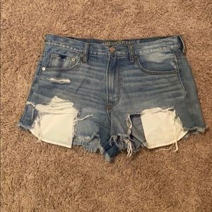 Sz 12 high waisted American eagle shorts